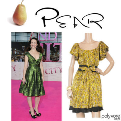 Dressing the pear body shape