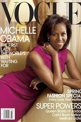 Michelle Obama March Vogue