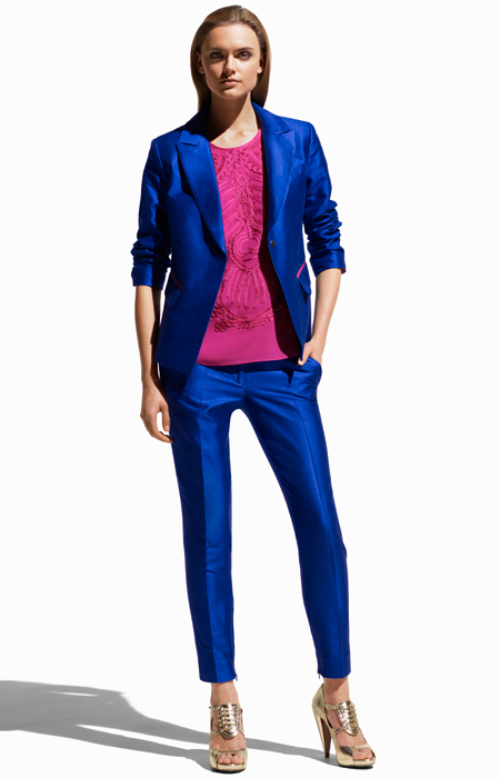H&M - Matthew Williamson Electric Blue Suit