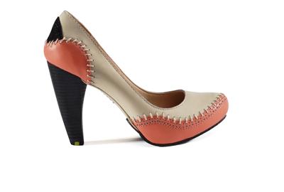 pinknappaleathershoe
