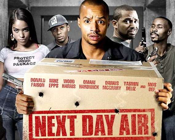 Next Day Air Original Movie Poster