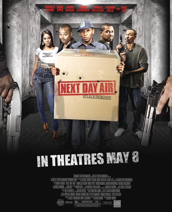 Next Day Air Movie Poster , Yasmin Deliz , Next Day Air ...