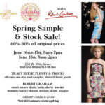 Tracey Reese Sample Sale