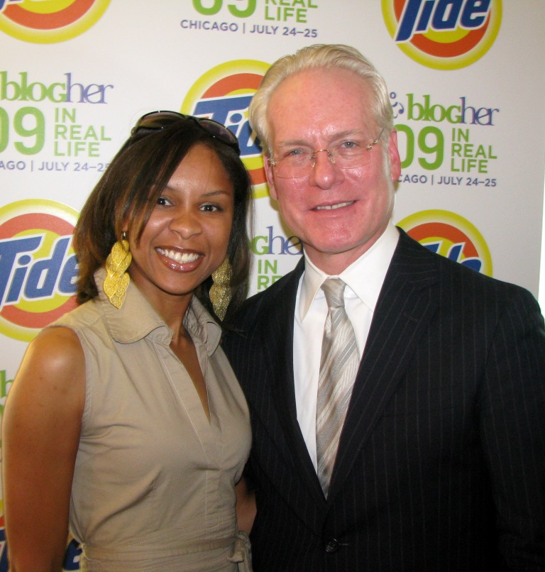 STYLEMOM and Tim Gunn