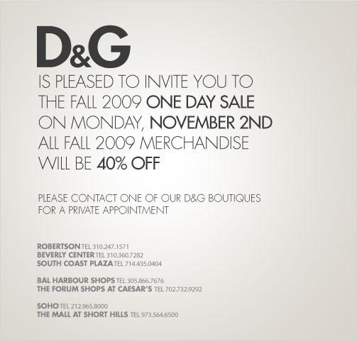 9d2c3ebaa5cbb SALE ALERT  Dolce   Gabbana 40% OFF – STYLEMOM