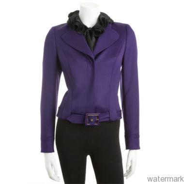 Escada Belted Jacket