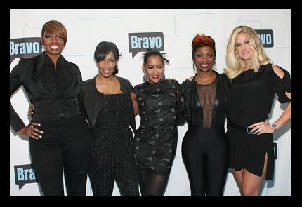 NeNe Leakes, Sheree Whitfield, Lisa Wu Hartwell, Kandi Burruss and Kim Zolciak