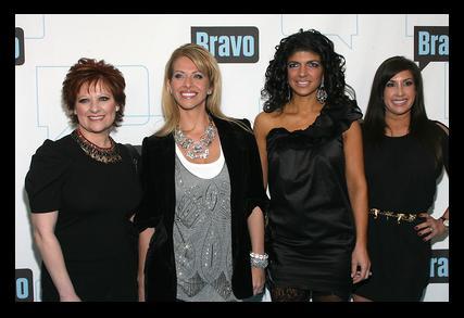 Caroline Manzo, Dina Manzo, Teresa Giudice and Jacqueline Laurita