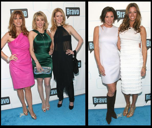 Jill Zarin, Ramona Singer and Alex McCord
