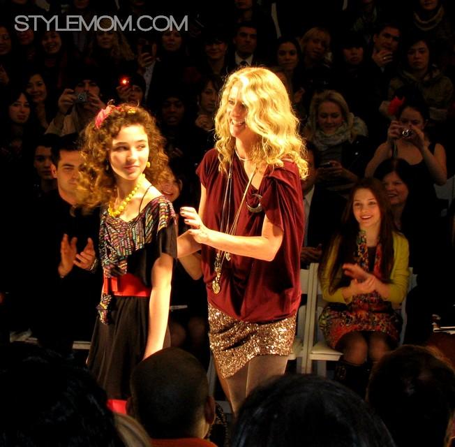 Nanette Daughter the mom scene new york fashion week fashion week fashion style fashion style