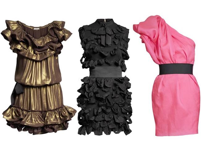Lanvin for H+M dresses