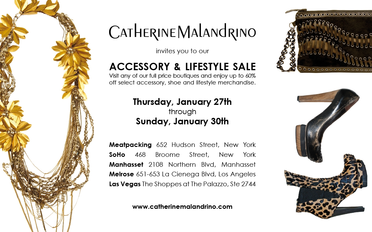Catherin Malandrino Sale Jan 2011