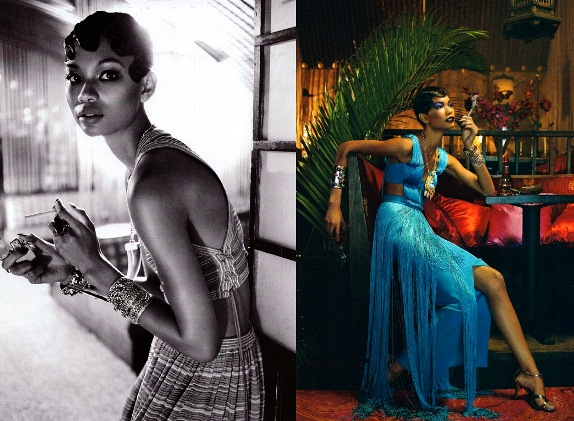 BlackAllure Vogue Italia spread Feb. 2011