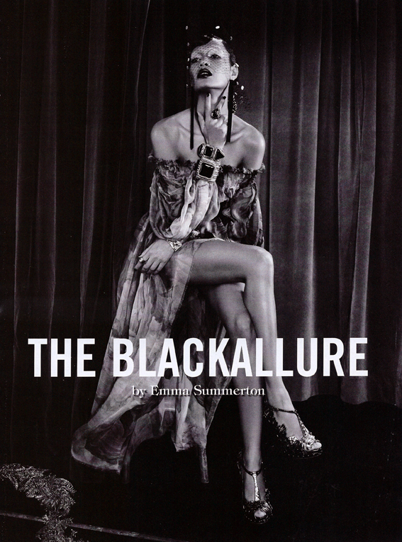 BlackAllure Vogue Italia Feb 2011