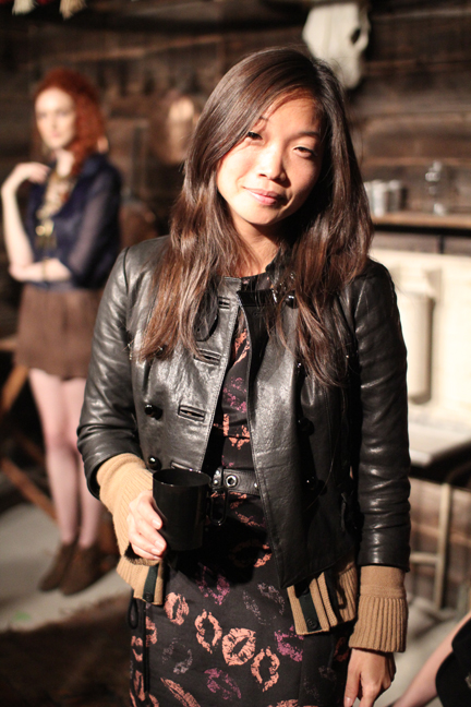 Grace Sun NYFW webblogging the mom scene tech style lifestyle fashion style