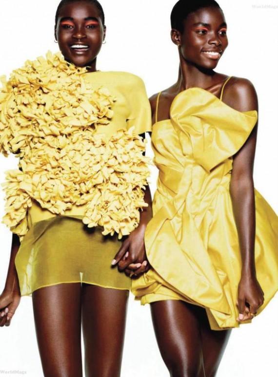 Harper's Bazaar March 2011 - Black Models