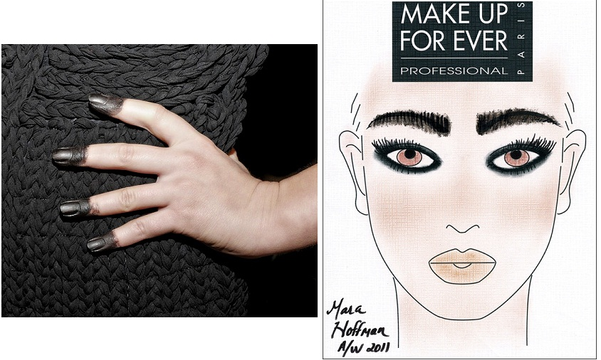 Makeup Forever for Mara Hoffman Fall 2011