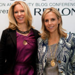 Brandon Holley and Tory Burch