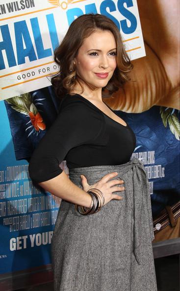 Alyssa Milano Pregnant