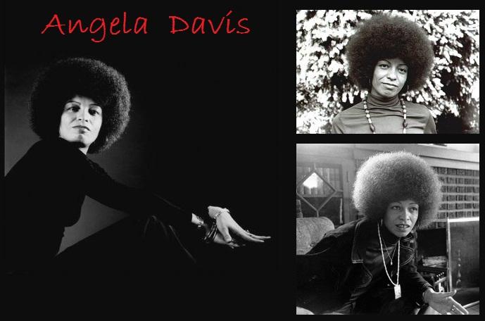 Angela Davis Collage