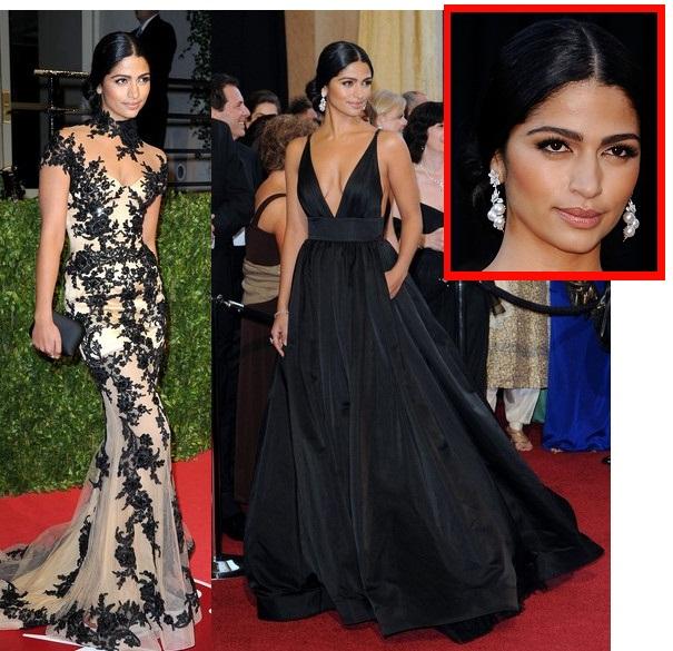 Camila Alves Vanity Fair Oscars Party 2011