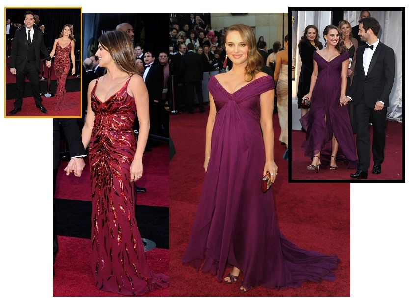 Penelope Cruz and Natalie Portman 2011 Oscars