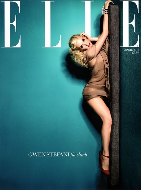 Gwen Stefani Elle UK April 2011