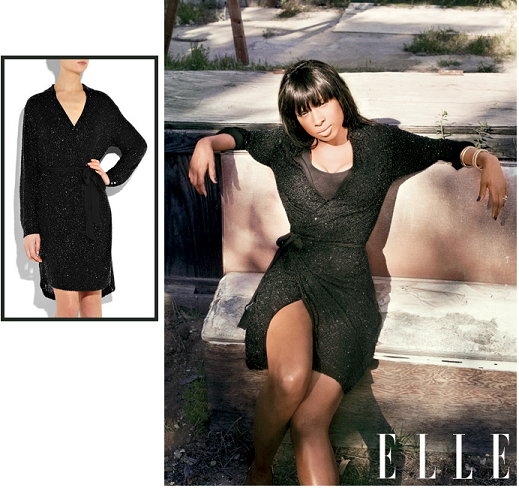 Jennifer Hudson ELLE May 2011