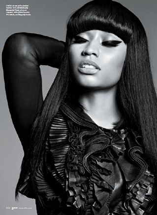 Nicki Minaj ELLE May 2011