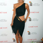 Halle Berry wears Halston