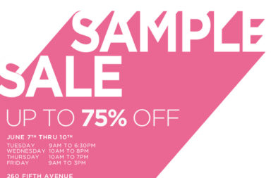 DVF Sample Sale 2011