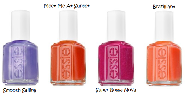 Essie Summer 2011 Nail Colors