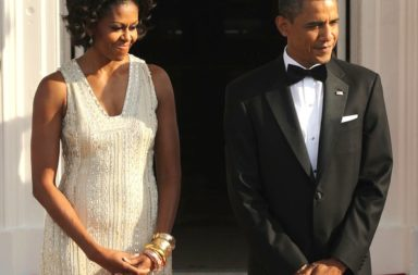 Michelle Obama and President