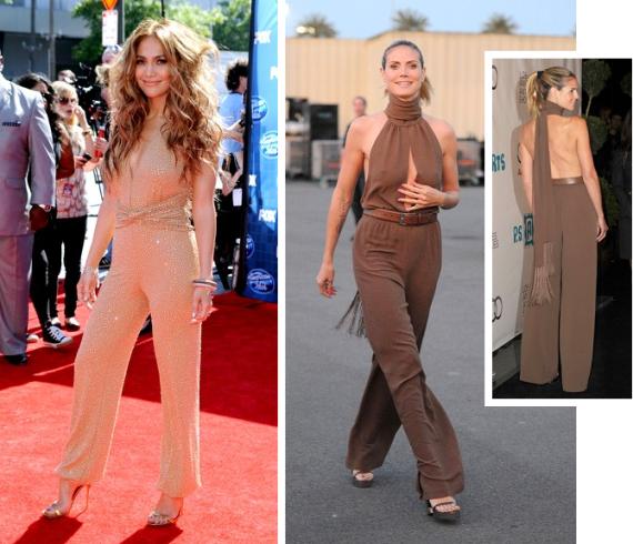 Jennifer Lopez Heidi Klum