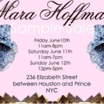 Mara Hoffman Sample Sale