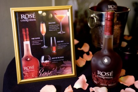 Rose Courvoisier Cocktails