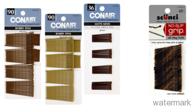 Conair and Scunci Bobby Pins