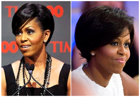 Michelle Obama Updo