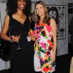 Stylemom.com Beauty Editor Tayelor Kennedy with Cathy Riva