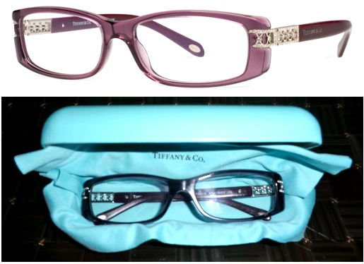 Tiffany & Co. designer glasses