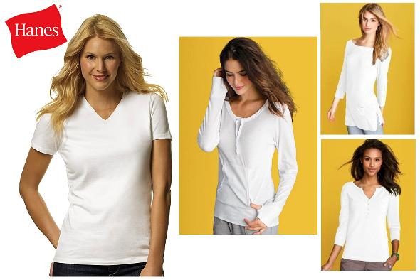 Hanes Womens T-shirts