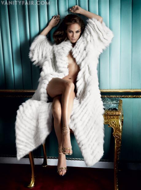 Jennifer Lopez Vanity Fair 2011