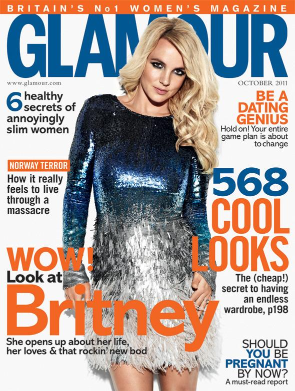 Britney Spears Glamour UK