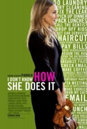 IDK How She Does It Poster Sarah Jessica Parker
