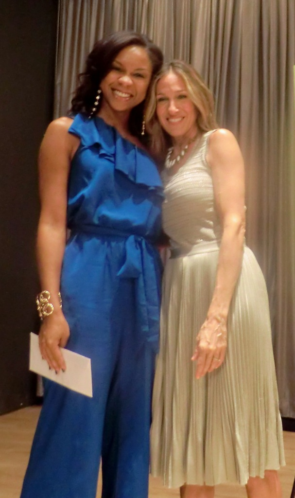 Nichelle Pace and Sarah Jessica Parker