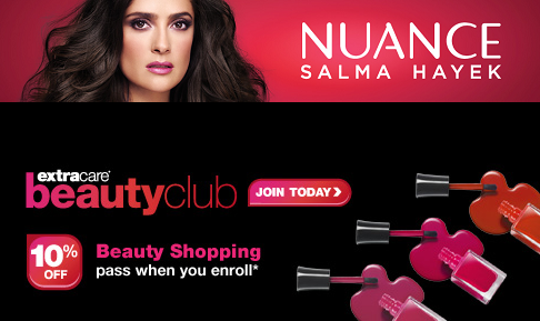 Salma Hayek Nuance at CVS