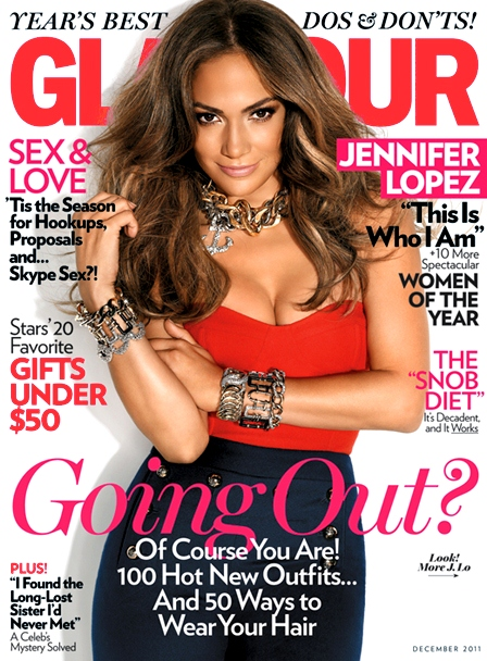 Jennifer Lopez Glamour Woman of the Year 2011
