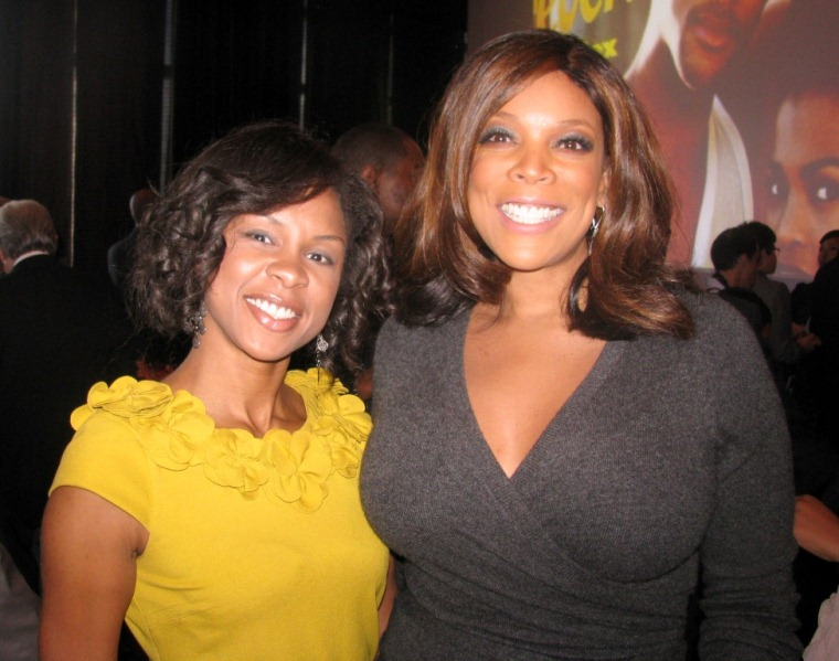 STYLEMOM.com's Nichelle Pace and Wendy Williams