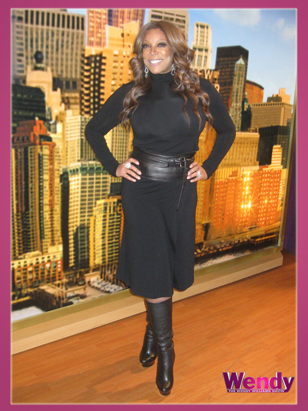 Wendy Williams in Donna Karan