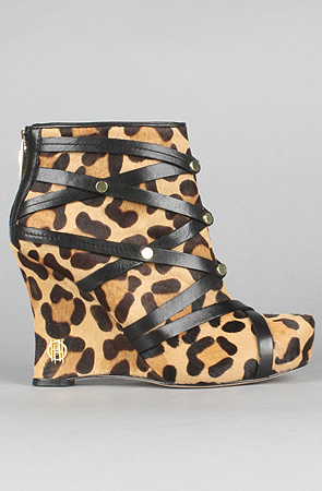 House of Harlow 1960 Ava Leopard bootie
